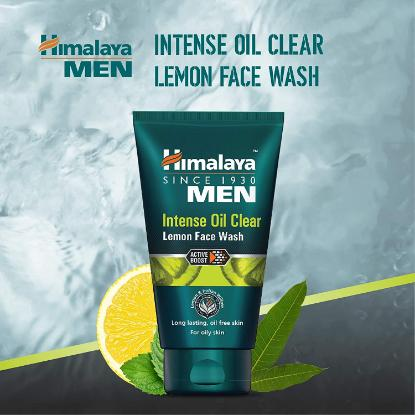 Picture of Himalaya Intense Oil Clear Lemon Face Wash 100ml