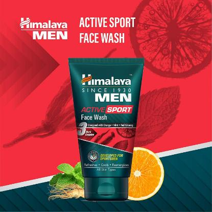 Picture of Himalaya Active Sport Face Wash 100Ml