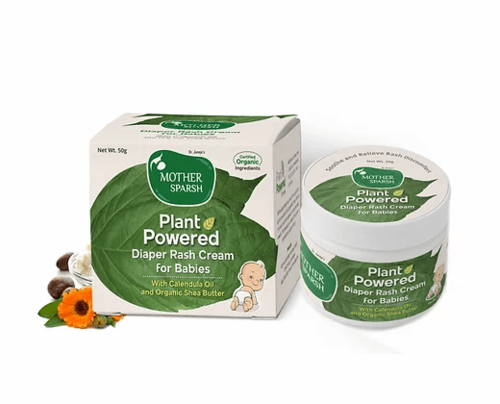 Picture of Mother Sparsh Plant Powered Diaper Rash Cream for Babies 50gm