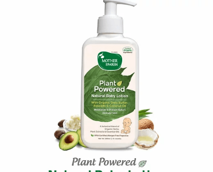 Picture of Mother Sparsh Plant Powered Natural Baby Lotion 200ml