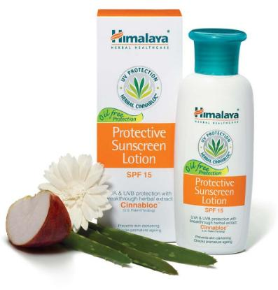 Picture of Himalaya Protective Sunscreen Lotion 100ml