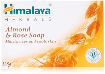 Picture of Himalaya Almond & Rose Soap 125gm