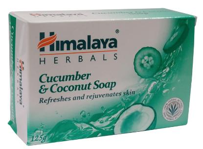 Picture of Himalaya Cucumber & Coconut Soap 125gm