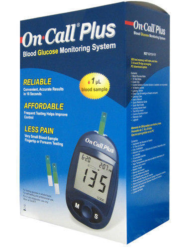Picture of On Call Plus Blood Glucose Monitoring Machine