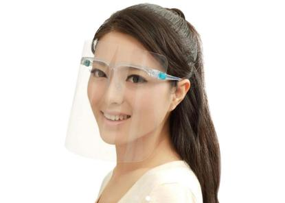 Picture of Face Shield with Glasses