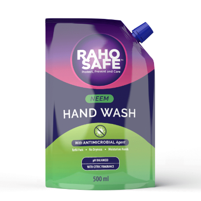 Picture of Raho Safe Neem Hand Wash - 500ml Refill Pack