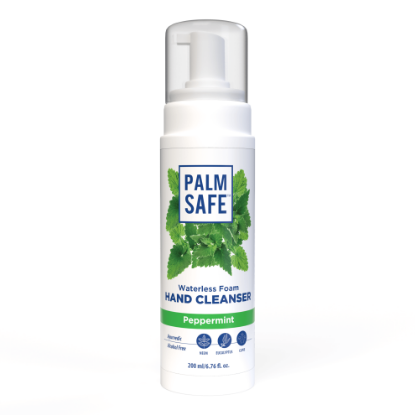 Picture of Palm Safe Ayurvedic Foam Based Alcohol-Free Cleanser 200ml