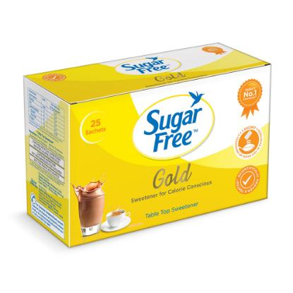 Picture of Sugar Free Gold Sachet 25