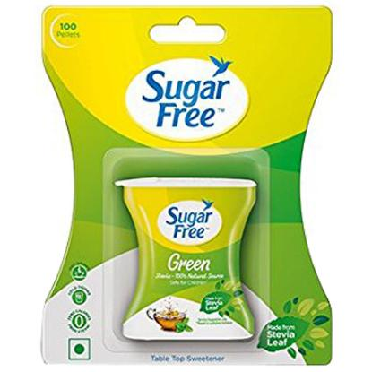 Picture of Sugar Free Green 100 Tab 'Bottle