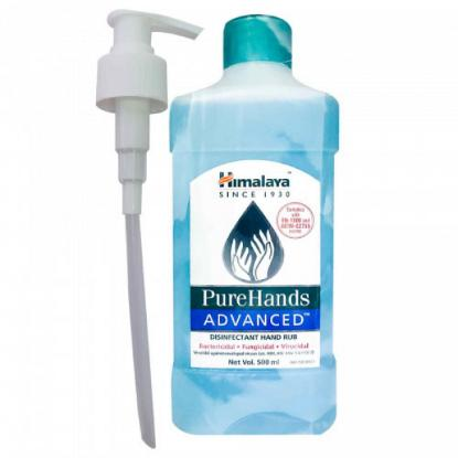 Picture of Himalaya Pure Hands Advanced Disinfectant Hand Rub 500Ml