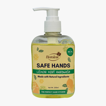 Picture of Safe Hands Lemon Mint Handwash 250ml