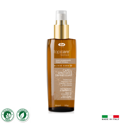 Picture of Lisap T.C.R. Elixir Care Oil 150ml (For High Shine + Repair)