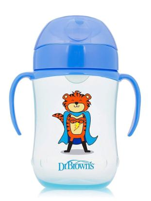 Picture of Dr. Brown's 9 oz / 270ml Soft-Spout Toddler Cup, Assorted Superhero (9m+)
