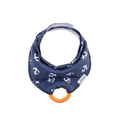 Picture of Dr. Brown's Bandana Bib w/ Teether, Anchors, Single