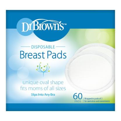 Picture of Dr. Brown's Disposable Breast Pads, 60-Pack