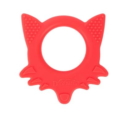 Picture of Dr. Brown's Flexees Friends Fox Teether - Red