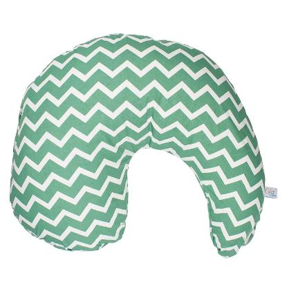 Picture of Dr. Brown's Gia Pillow Cover - Green Chevron