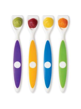 Picture of Dr. Brown's Long Spatula Spoon (4-Pack)