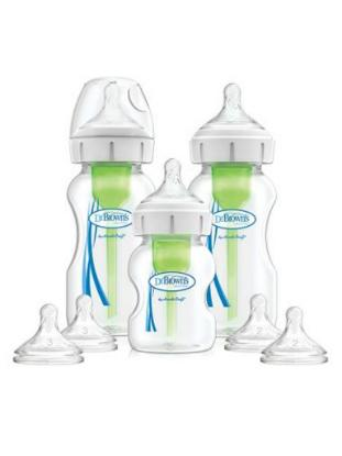Picture of Dr. Brown's Options+ Wide-Neck Baby Bottle Starter Kit, PP