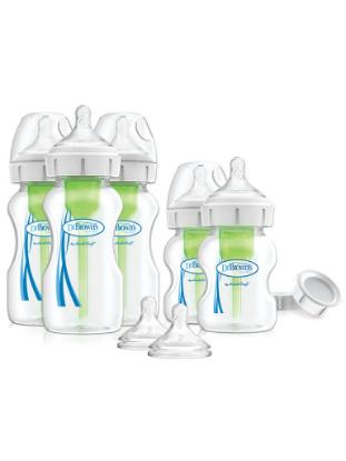 Picture of Dr. Brown's Options+ Wide-Neck Newborn Feeding Set, PP