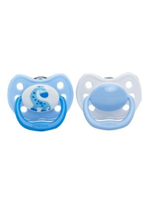 Picture of Dr. Brown's Ortho CLASSIC SHIELD Pacifier - Stage 2 * 6-12M - Blue, 2-Pack