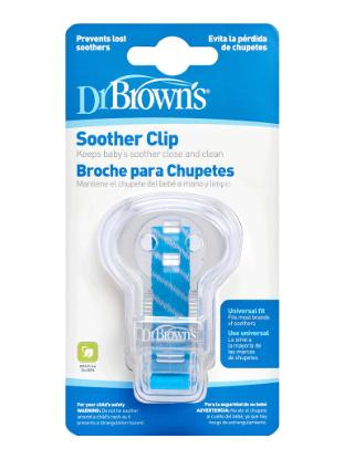 Picture of Dr. Brown's Pacifier Tether/Clip - Assorted Colors