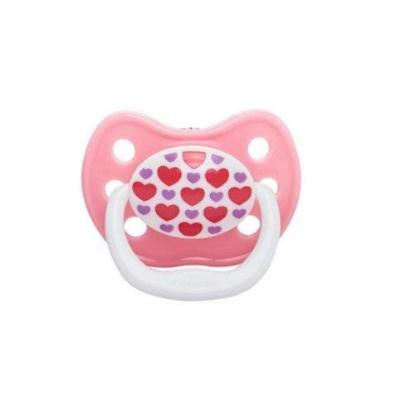 Picture of Dr. Brown's PreVent CLASSIC SHIELD Pacifier - Stage 1 * 0-6M - Pink, 1-Pack