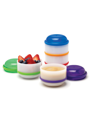 Picture of Dr. Brown's Snack-A-Pillar Dipping Cups