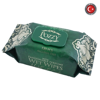 Picture of Pozzy Wet Towel Wipes - Motifs Of East W/Cap 120Pcs