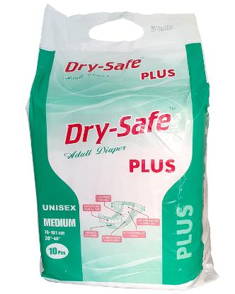Picture of Dry Safe Plus Adult Diaper M