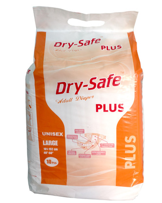Picture of Dry Safe Plus Adult Diaper L