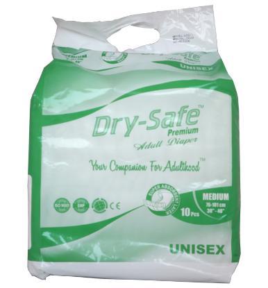 Picture of Dry Safe Premium Adult Diaper (M)