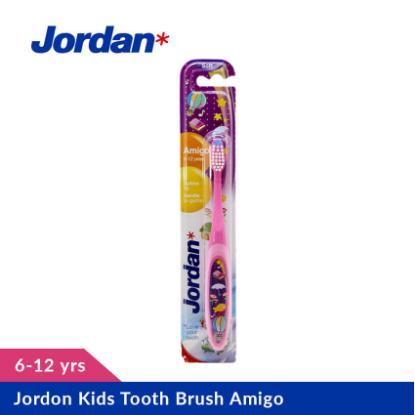 Picture of Jordan Kids Tooth Brush Amigo, 6-12yrs