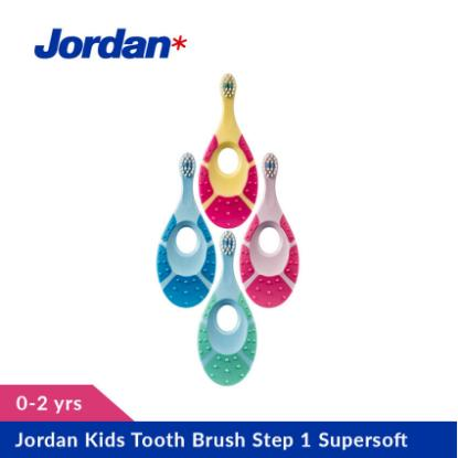 Picture of Jordan Kids Tooth Brush Step 1 Supersoft, (0 - 2 yrs)