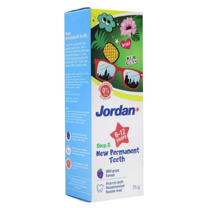 Picture of Jordan Tooth Paste (New Permanent Teeth) Grape