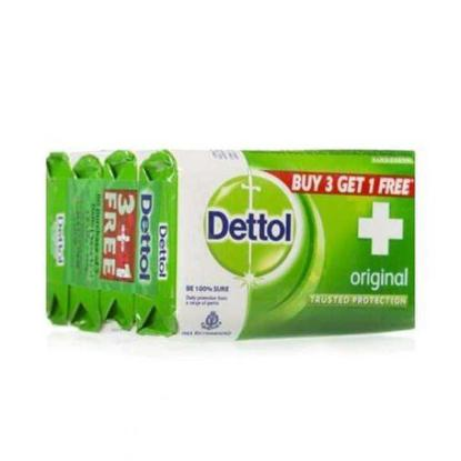 Picture of Dettol Soap (3+1) OFFER PACK 75 gm