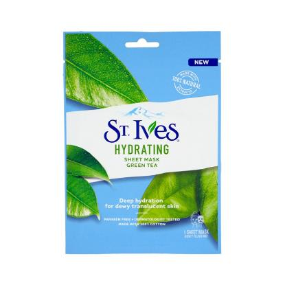 Picture of St. Ives Hydrating Sheet Mask Green Tea