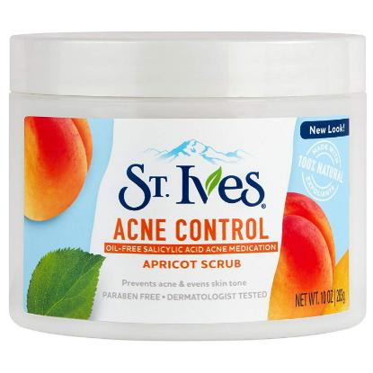 Picture of St. Ives Acne Control Apricot Scrub, 283g