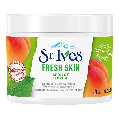 Picture of St. Ives Fresh Skin Apricot Face Scrub 170gm
