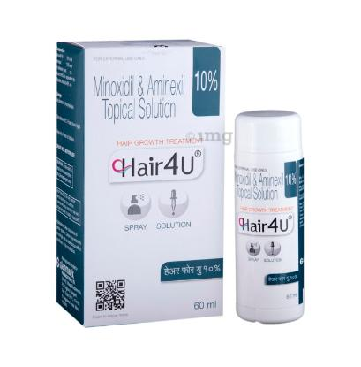 Picture of Hair 4U 10% Spray/ Solution 60ML 'Bottle