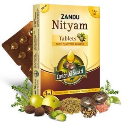 Picture of Zandu Nityam Tablet 12'S