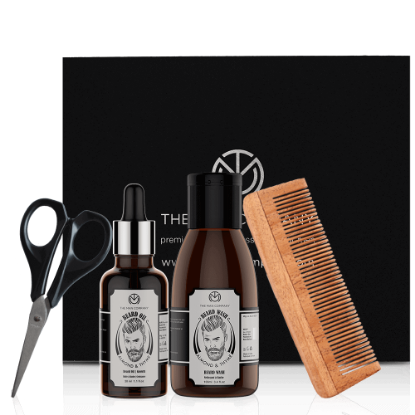Picture of The Man Almond & Thyme Beard Box
