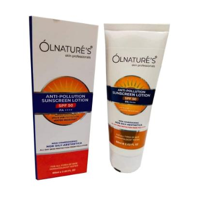 Picture of Olnatures Anti-Pollution Sunscreen lotion 50 + 60 gm