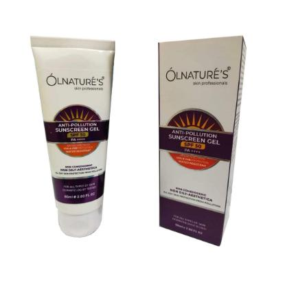 Picture of Olnatures Anti-Pollution Sunscreen Gel 50 + 60 ml