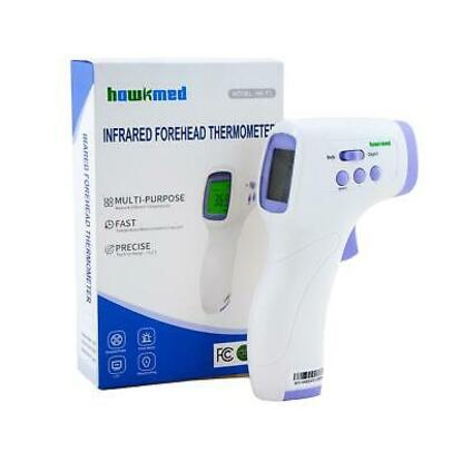 Picture of Hawkmed Non-Contact Digital Infrared Forehead Body Thermometer
