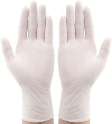 Picture of Powdered Latex Gloves Small