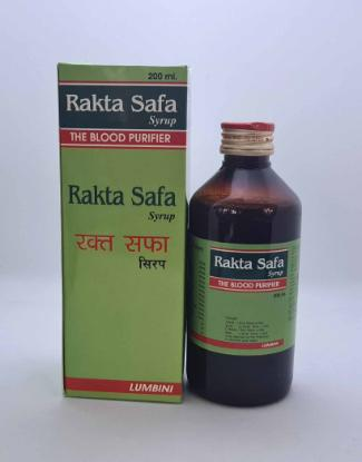 Picture of Rakta Safa Syrup The Blood Purifier 200 ml Bottle