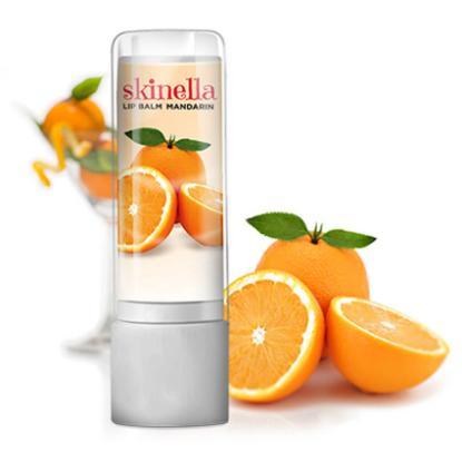 Picture of Skinella Mandarin Lip balm, 3.6gm
