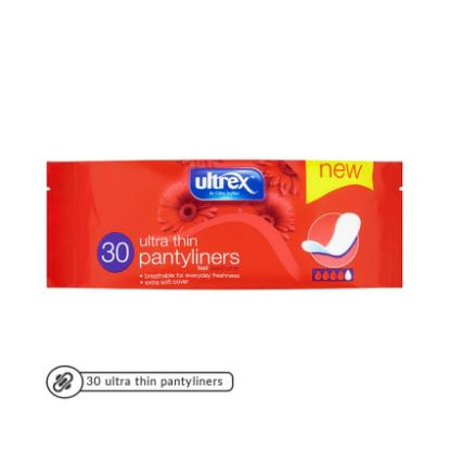 Picture of Ultrex Ultra Thin Panty Liners 30's