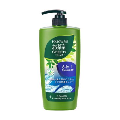 Picture of Follow Me Green tea Shampoo 6 in 1 650 ml
